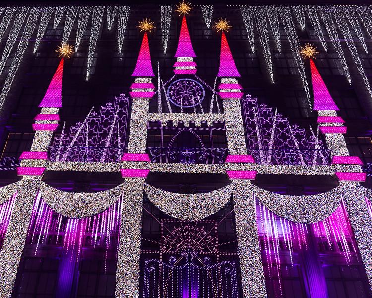 Saks Fifth Avenue Holiday Lights