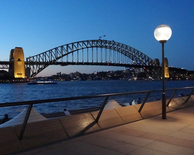 Twilight in Sydney