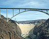 The great bridge over Hoover Dam