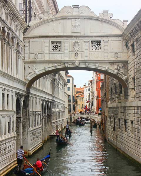Prisoners' Bridge of Sighs - Venice