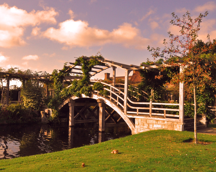 Footbridge at the Manor