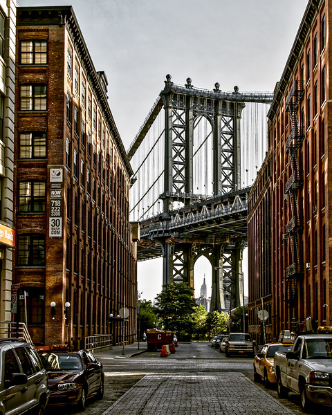 The Bridge view from Brooklyn