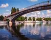 Pedestrian Bridge, Auxerre, Fr.