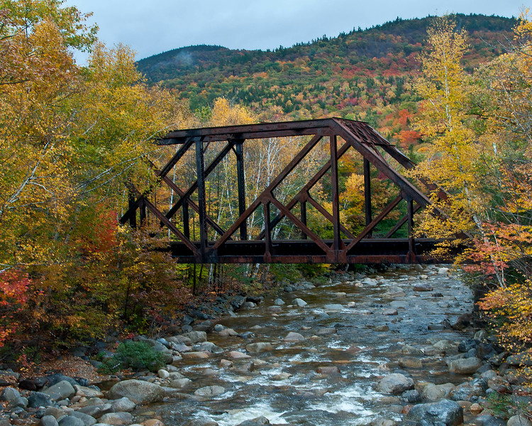 Rusted Bridge in the White Mountains