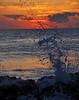 Splash at dawn