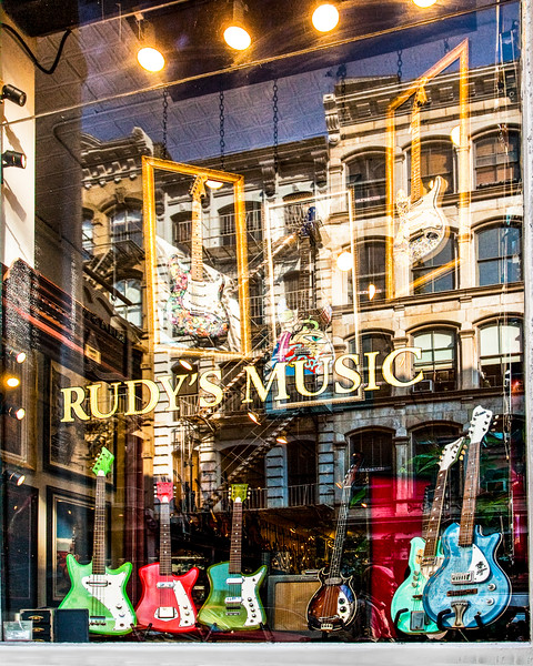 Rudy's Music, Grand Ave. NYC