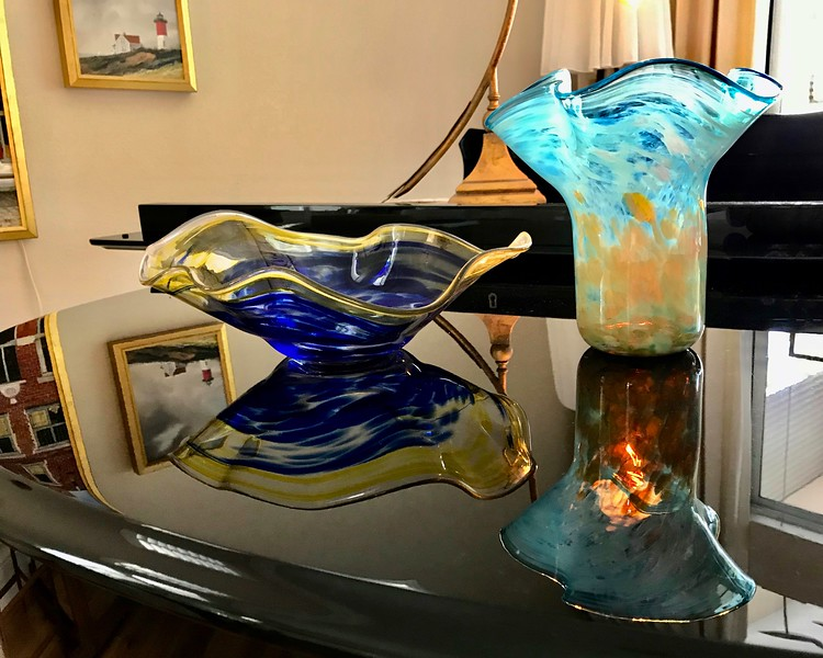 Glass Art Reflection
