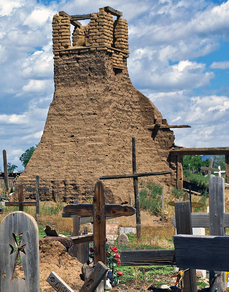 Ruins - St. Jerome Church built 1680 - Taos Pueblo<br /> n'Jill