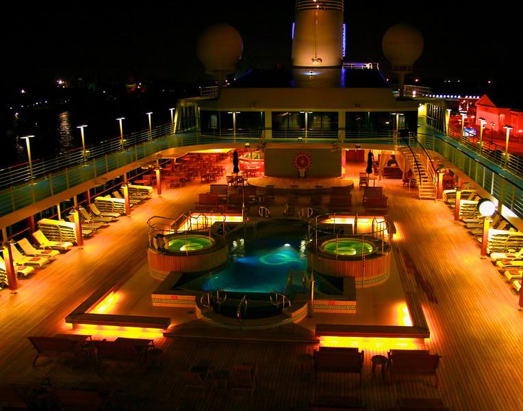 Cruise Ship at Night<br /> Steve Rudy
