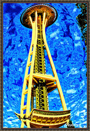 The Space Needle - Seattle