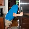 Week 21 - In the Fridge! - My 16 year old, always in the fridge!!!