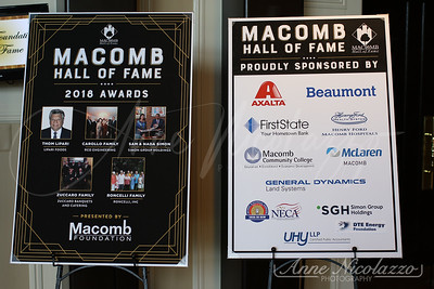2018 Macomb County Chamber Hall of Fame