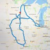 This is what my 10-day trackchasing trip itinerary looked like.