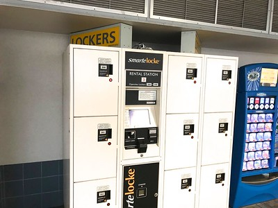 I think every airport should have lockers.