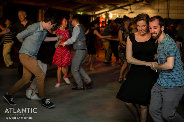 Atlantic Swing Festival 2016, Thursday night, photo by Light eX Machina  Better quality pics on the web gallery http://www.lightexmachina.com/Chambre-noire-Darkroom/Dance/Atlantic-Swing-Festival-2016  Feel free to share on your Facebook wall. Please CREDIT my work and DO NOT CROP pictures. NO commercial or promotional usage. Contact me at alx@lightexmachina.com for any such request.  © Light eX Machina, 2016. All rights reserved.