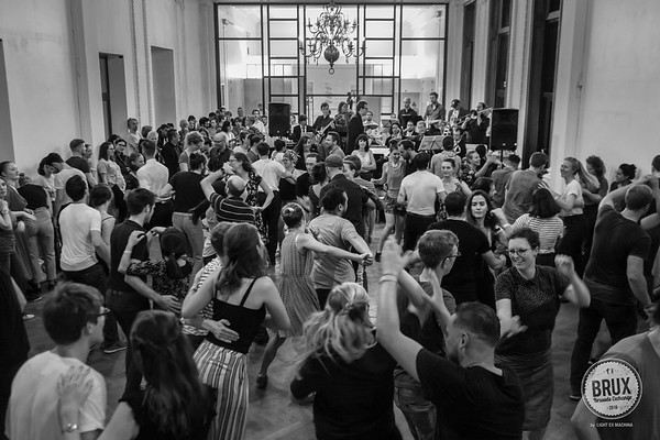 BRUX 2018 Big Band Bash on Saturday afternoon, photo by LIGHT EX MACHINA  Feel free to share on social media with the author's credit and no crop, for non promotional and non commercial use.  Better quality pictures on my web gallery http://www.lightexmachina.com/Chambre-noire-Darkroom/Dance/BRUX-2018/  © LIGHT EX MACHINA 2018, all other rights reserved.