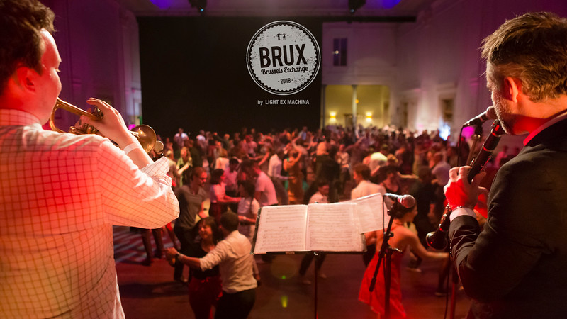 BRUX 2018 Friday Party, photo by LIGHT EX MACHINA  Feel free to share on social media with the author's credit and no crop, for non promotional and non commercial use.  Better quality pictures on the web gallery http://www.lightexmachina.com/Chambre-noire-Darkroom/Dance/BRUX-2018/  © LIGHT EX MACHINA 2018, all other rights reserved.