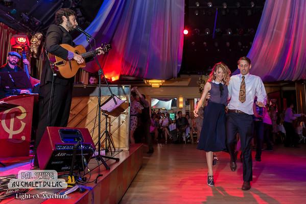 Bal Swing au Chalet du Lac avec l'orchestre les Jellyrolls Combo  Tous droits réservés, © Light eX Machina, 2014