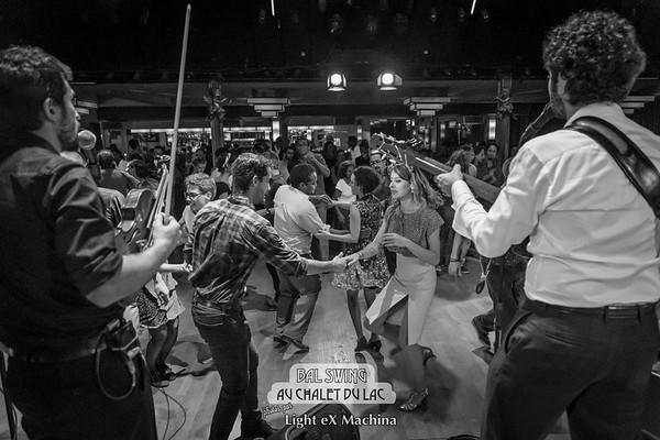 Bal Swing au Châlet du Lac avec l'orchestre Swing Deluxe  © Light eX Machina, 2014. Tous droits réservés.