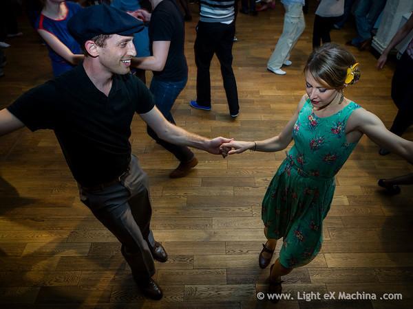 Bal Swing au MAS avec l'orchestre Swing Deluxe - © Light eX Machina, 2014. Tous droits réservés.
