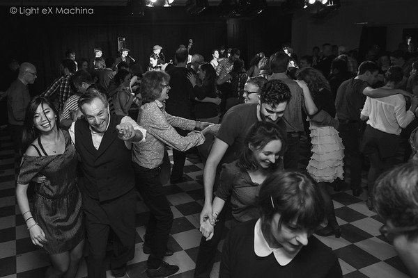 Bal swing de l'association SwingCorner avec l'orchestre Billy Collins SwinginParis, 10/12 2016 .  Tous droits réservés. © Light eX Machina, 2016. All rights reserved.