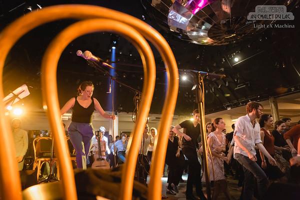 Bal Swing au Chalet du Lac avec l'orchestre Swing Deluxe, édition Spéciale Wonder Follow 2015 - © Light eX Machina, 2016. Tous droits réservés.