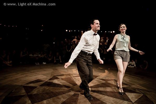 Cabaret Sauvage - Paulo & Mélanie performance