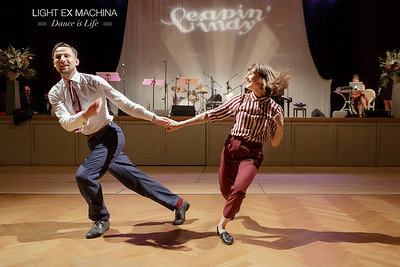 ✰ Dance is Life serie ✰ Leapin'Lindy 2017, Pamela & Martynas
