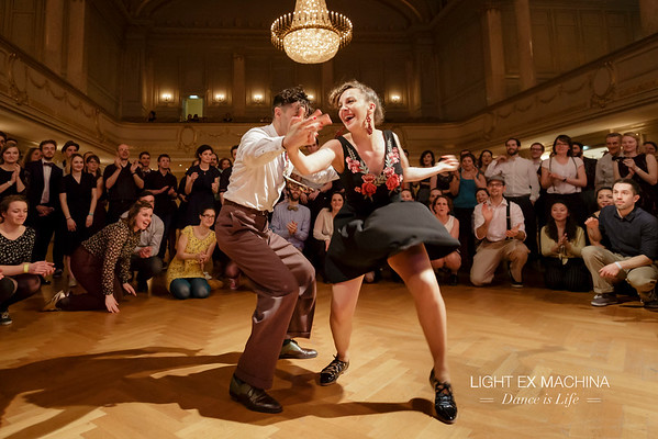 ✰ Dance is Life serie ✰ Leapin'Lindy 2017, Isabella & Vincenzo, a memorable jam :D
