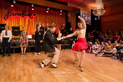 ✰ Dance is Life serie ✰ The Snowball 2016, Lindy hop JnJ competition - express yourself  :D     All pics of the event ☞ http://www.lightexmachina.com/Event/The-Snowball-2016  Feel free to share on Facebook with the author's credit and no crop, for non promotional and non commercial use. © Light eX Machina 2016, all other rights reserved.