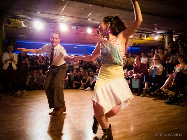 Highlights of Lindy Hopper's Delight, Barcelona Swing Festival - photo by LIGHT EX MACHINA  Feel free to share on social media with the author's credit without cropping, for non promotional and non commercial use.  © LIGHT EX MACHINA 2020, all other rights reserved.