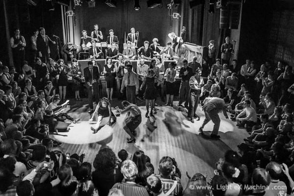 Paris Balboa Shag Festival, saturday party - teachers jam mess