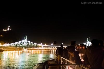 Swinging cruise on Danube