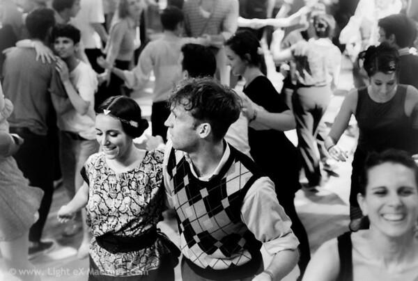 joyful dancing floor