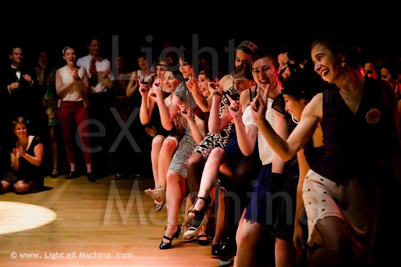 Swingin Paris Festival 2013 - girls solo charleston