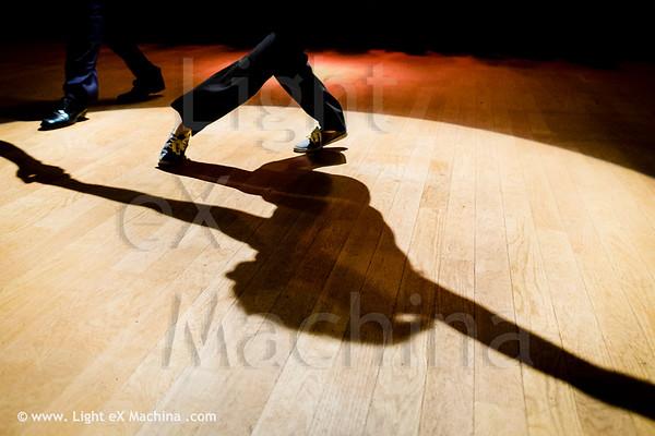 Swingin Paris Festival 2013 - Teachers presentation, dancing shadow
