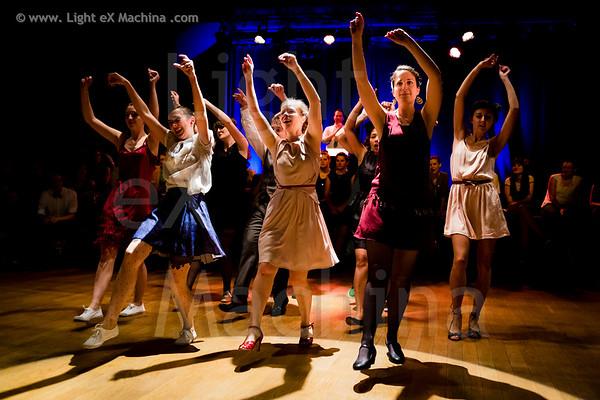 Swingin Paris Festival 2013 - students solo charleston