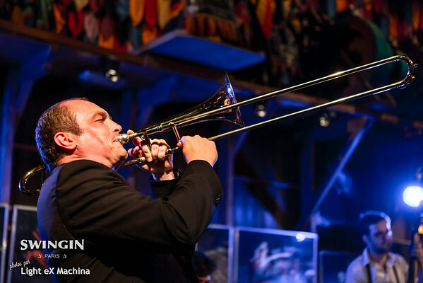 Swingin Paris Festival - friday night - Spirit of Chicago Orchestra  © Light eX Machina, 2014 / All rights reserved