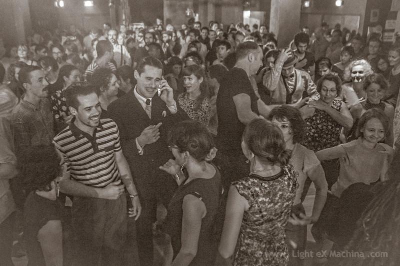 Battle of the band - Grand Bal Swing - La Bellevilloise