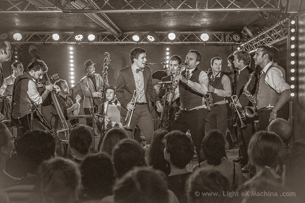 Battle of the band - Grand Bal Swing - La Bellevilloise