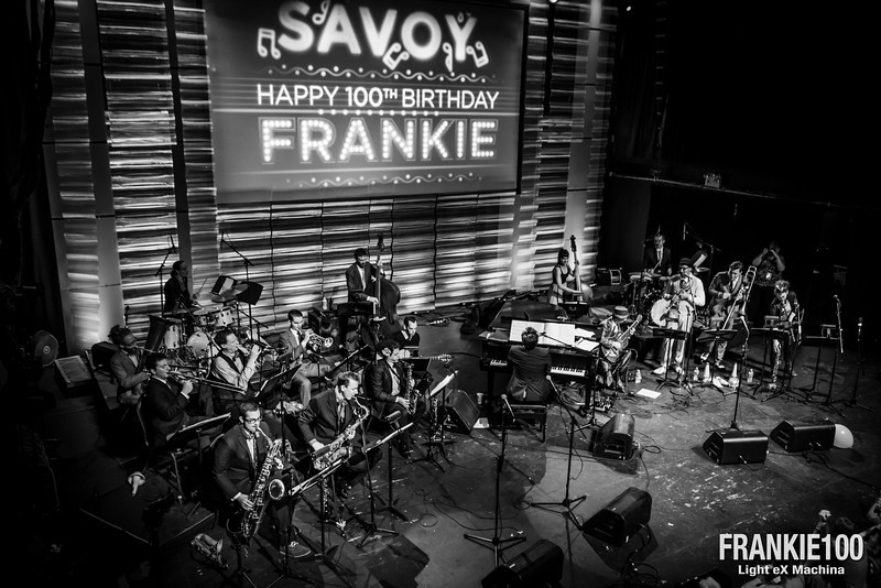 Night of the Frankie's 100th anniversary, with Gordon Webster ba