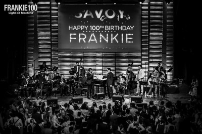Night of the Frankie's 100th anniversary, with Gordon Webster bands