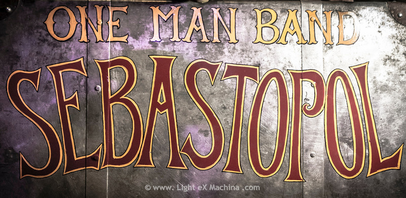 Sebastopol - One man band