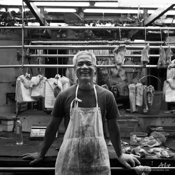 Le boucher rieur - © Light eX Machina. Tous droits réservés. All rights reserved.