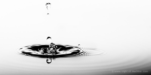 Abstract water - The Chinese dragon