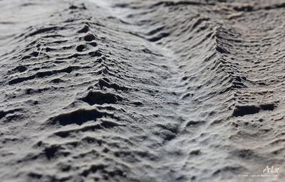 Fractale  Parc de la Vanoise, structure rocheuse L'érosion sculpte de gigantesque paysages miniature.