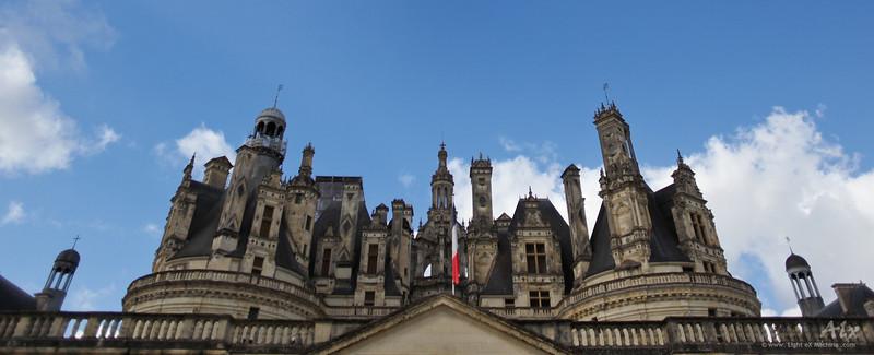 Les tours de Chambord