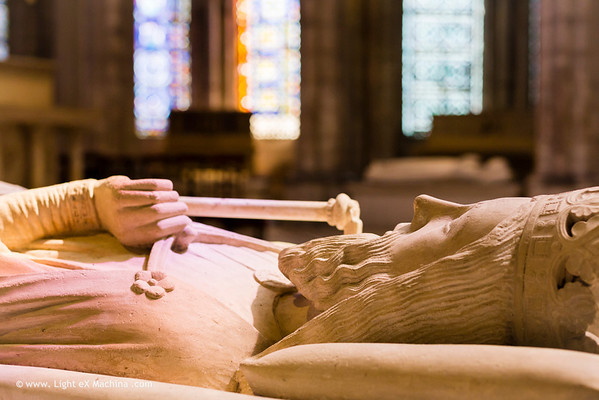 Baslique Saint-Denis, tombeau de Clovis