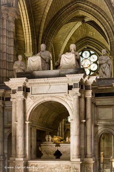 Baslique Saint-Denis, tombeau de François Ier