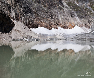 Reflet glaciaire